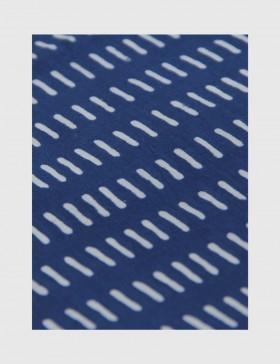 Indigo Dabu Print Fabric 11 (per meter)