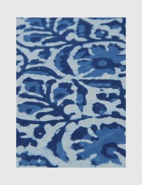 Indigo Dabu Print Fabric 08 (per meter)