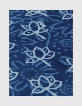 Indigo Dabu Print Fabric 09 (per meter)
