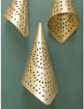 Cone Shape Lamp Set of 3 (23x13cm)