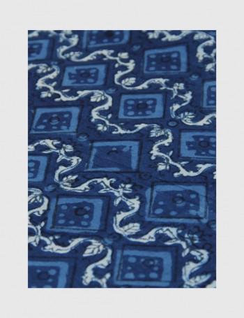 Indigo Dabu Print Fabric 13 (per meter)