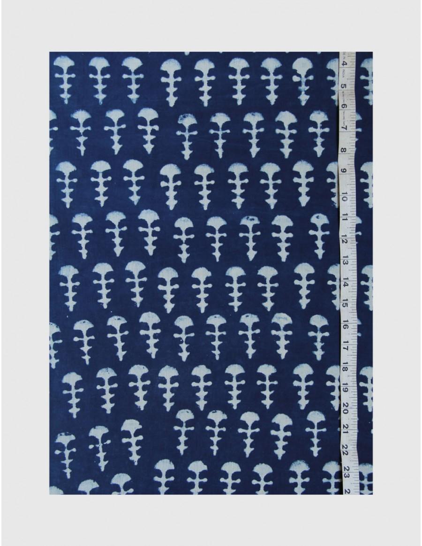 Indigo Dabu Print Fabric 06 (per meter)