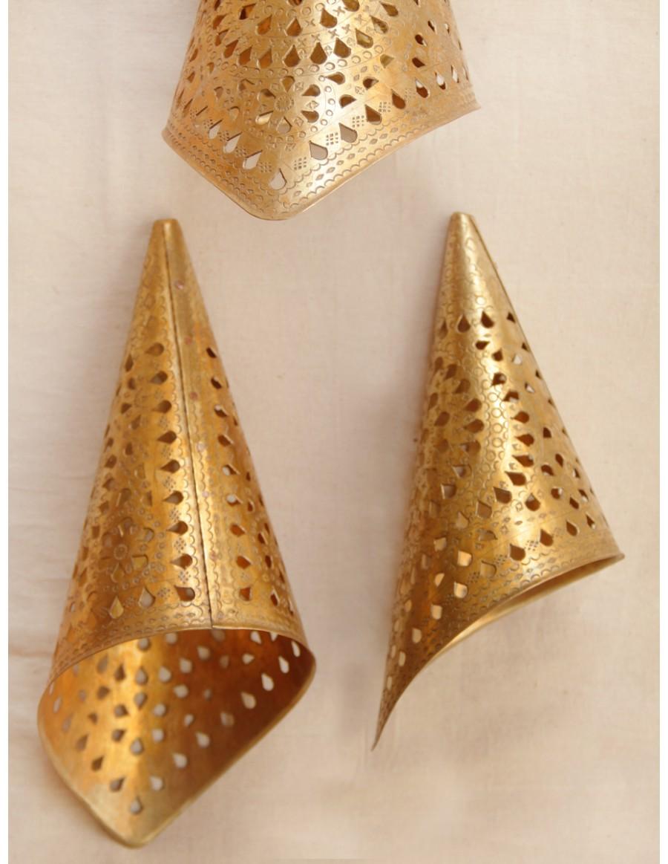 Cone Shape Lamp Set of 3 (23x13cm)