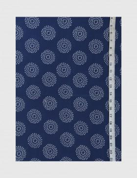 Indigo Dabu Print Fabric 12 (per meter)