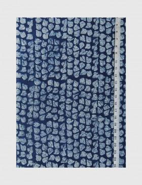 Indigo Dabu Print Fabric 15 (per meter)
