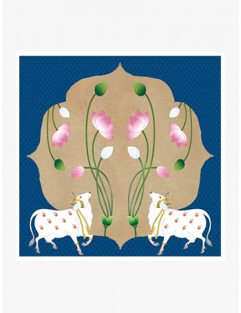 Pichwai Cow
