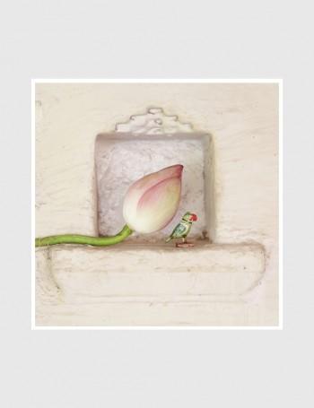 Kamal ~ Tota (Lotus ~ Parrot)